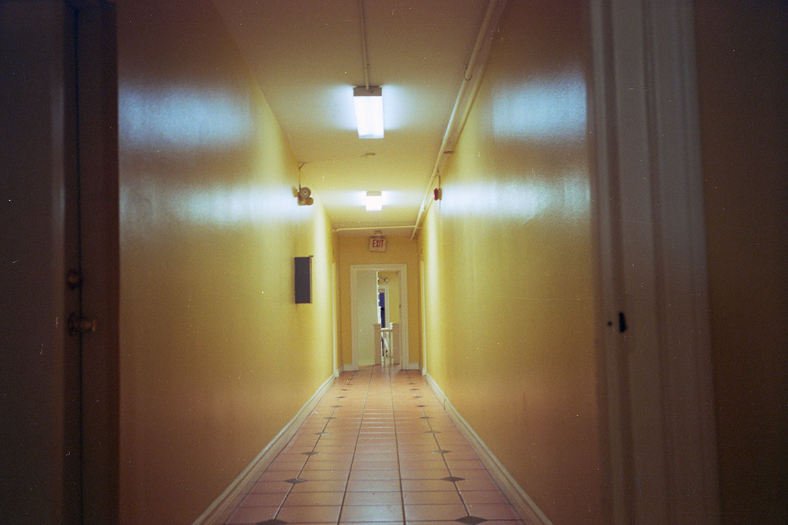 Hallway, Echo Park, 2008