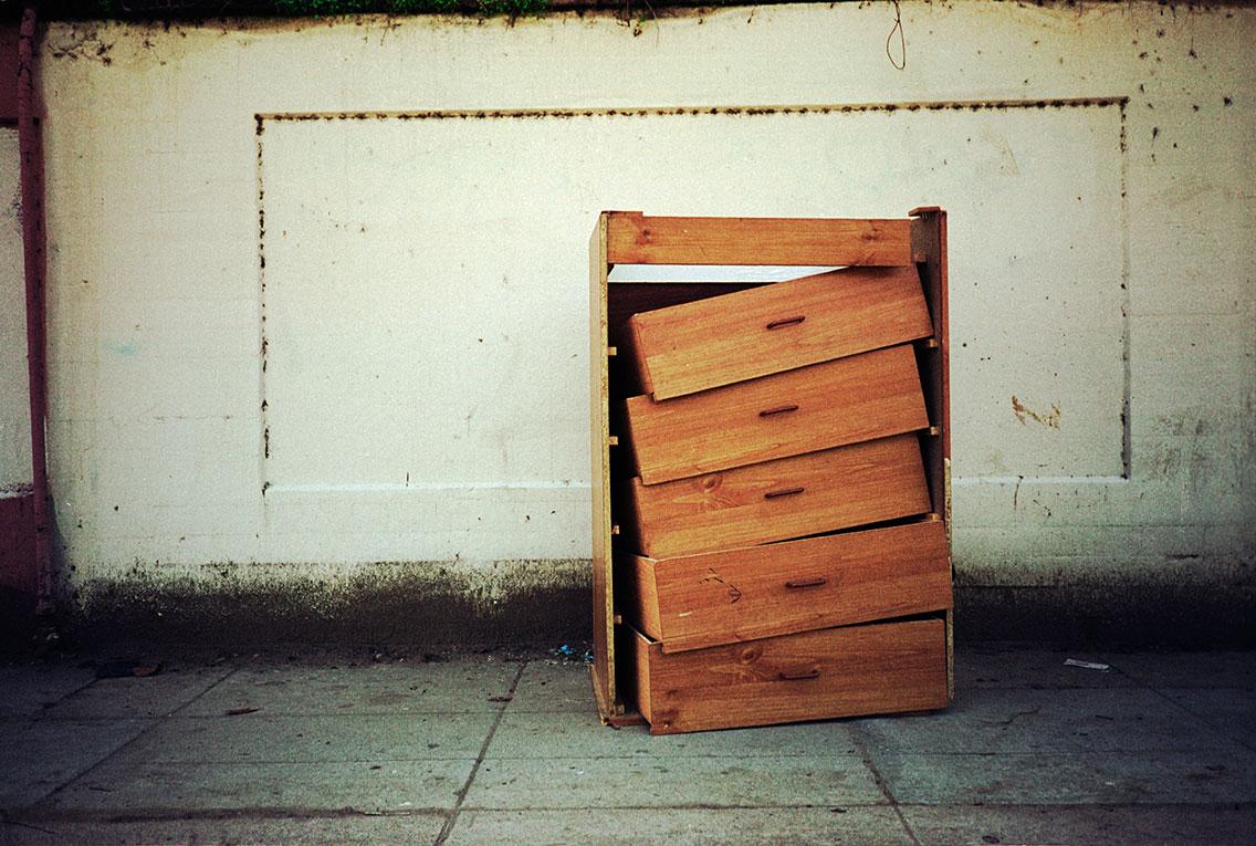 Dresser, Sunset Blvd, 2009