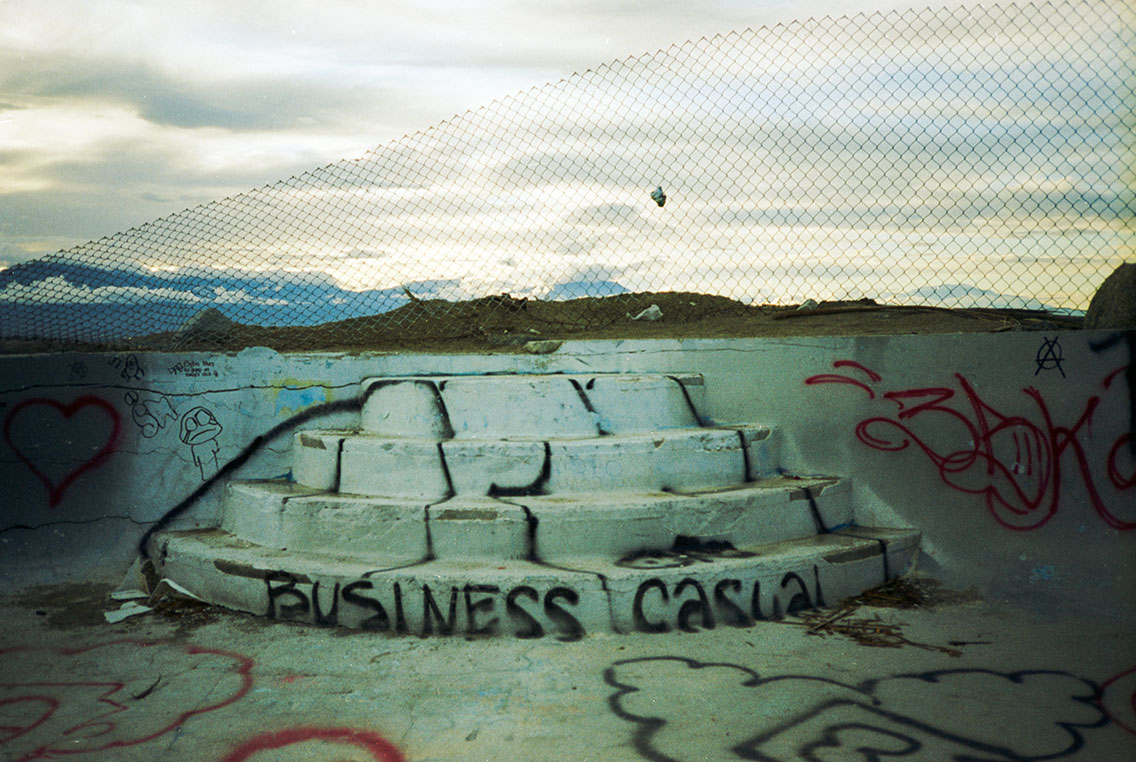 Business Casual, Salton Sea, 2006