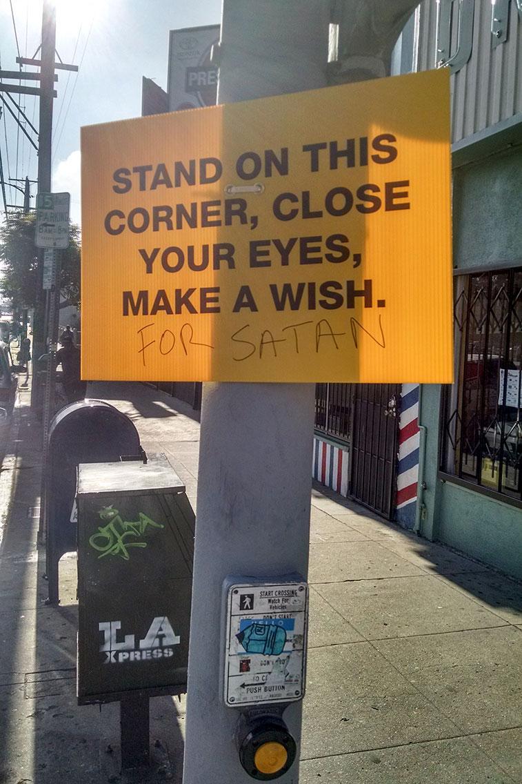 Make a Wish For Satan, Echo Park, 2015