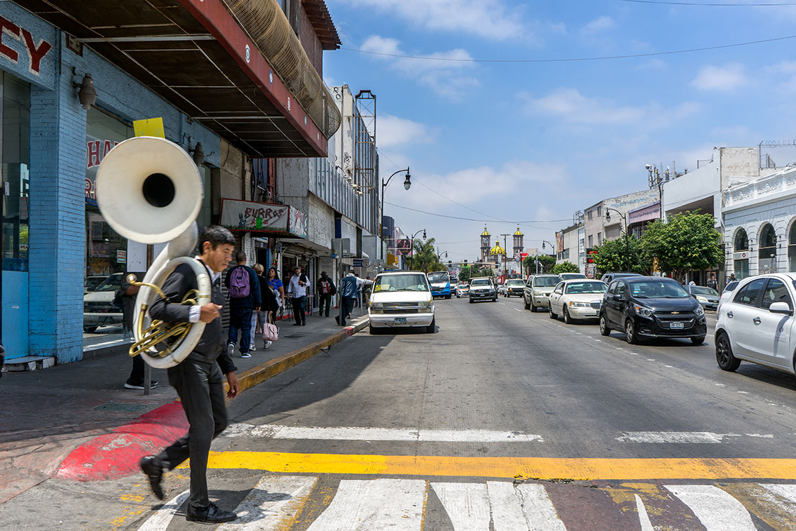 Tuba Player, Tijuana, June 2019