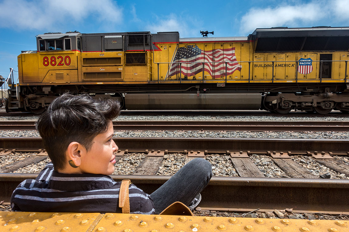 Freedom Train, Guadalupe California, 2019