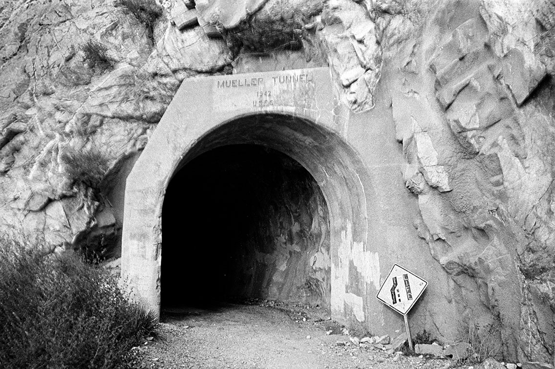 Muelle Tunnel, Mt Wilson Rd, 2014