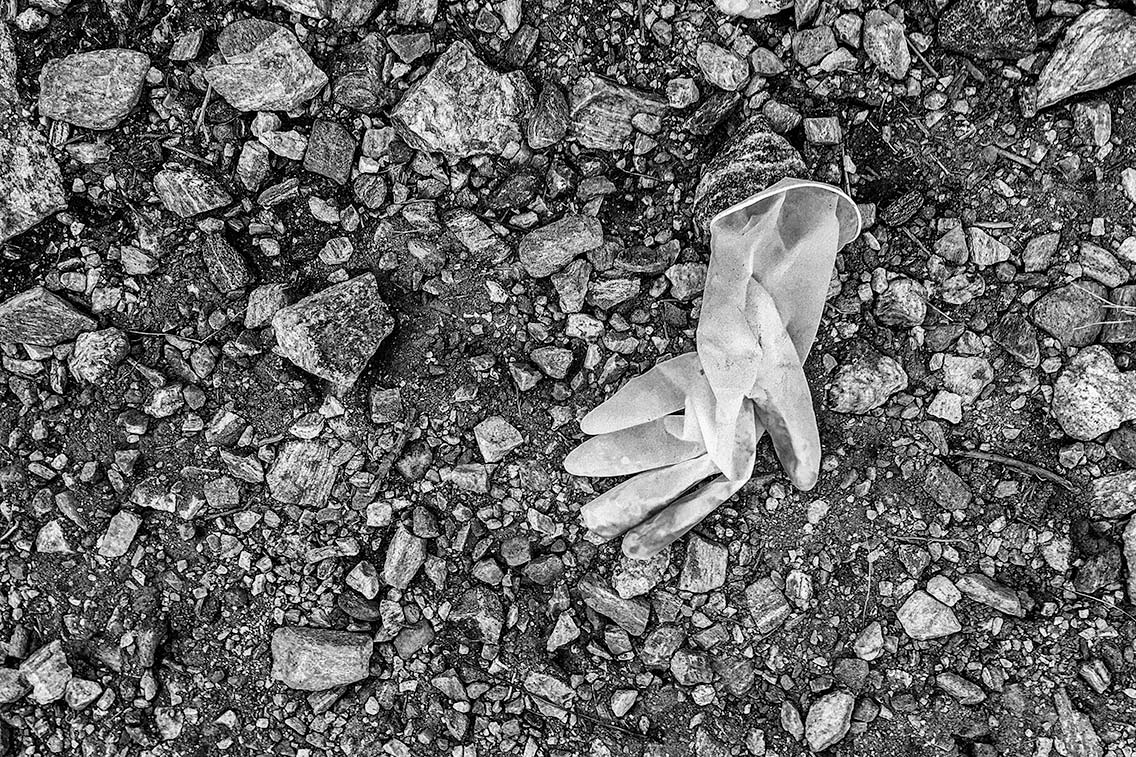 Discarded Glove