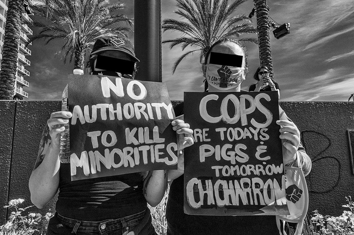 Black Lives Matter, Long Beach, May 31