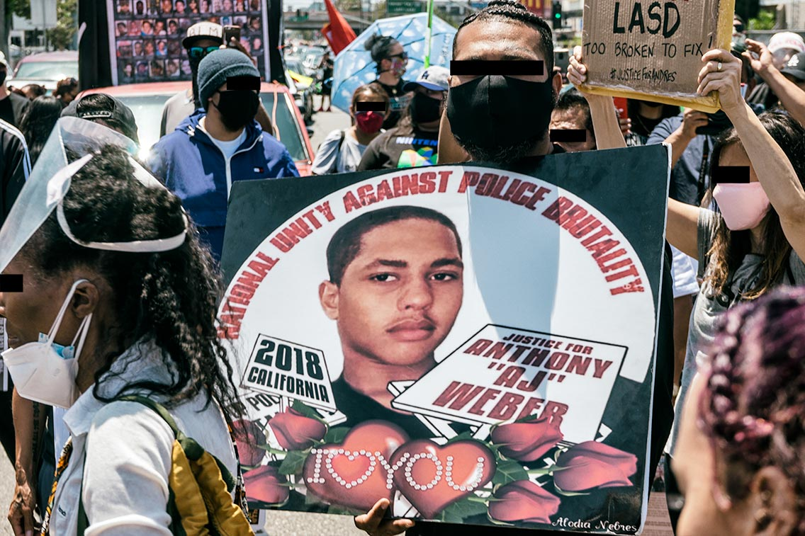 Unity against police brutality
