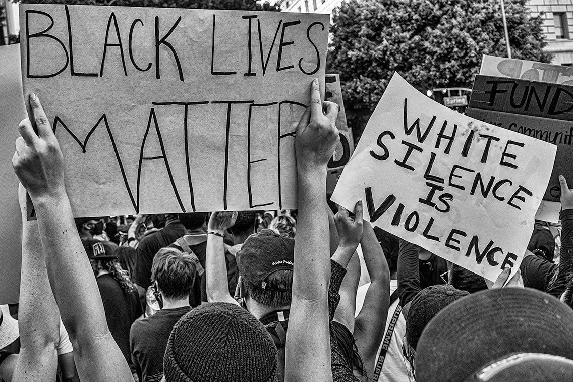 White Silence is Violence.