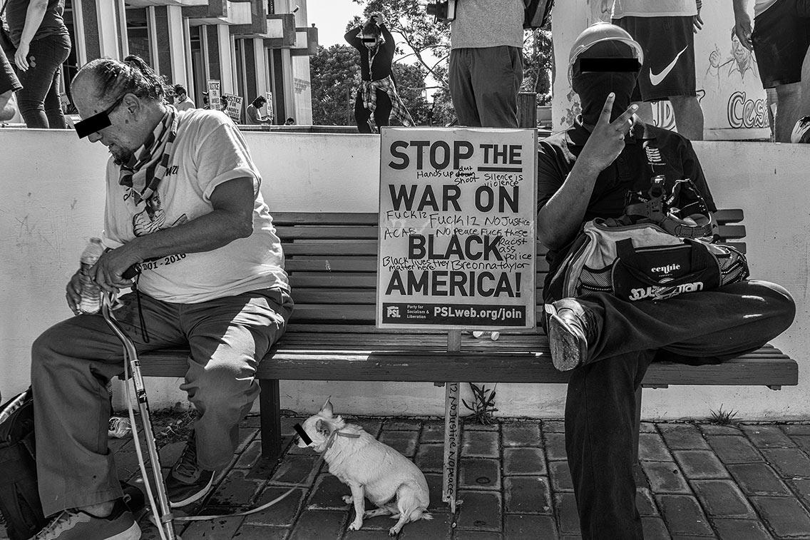 Stop the war on Black America!