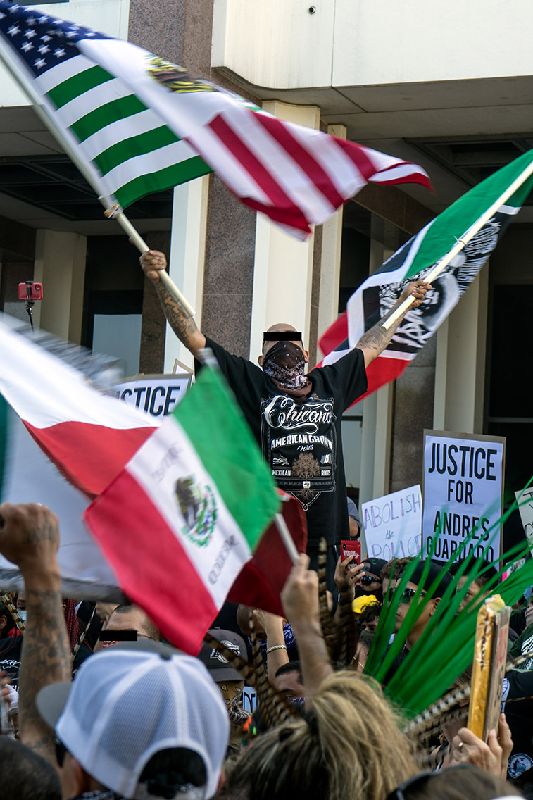 Justice for Andrés Guardado, Compton, June 2020