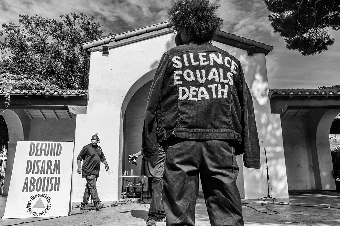 Silence Equals Death, Long Beach Pride/BLM, June 2020